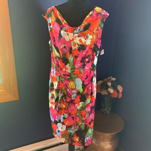 NWT Jones Wear Dress floral 12